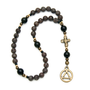 Addiction Recovery Prayer Beads