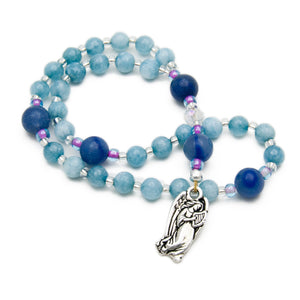 Guardian Angel 33-Bead Anglican Rosary by Unspoken Elements