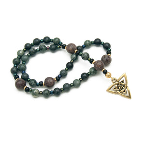 Triquetra Prayer Beads by Unspoken Elements