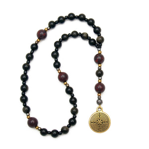 Path of Peace Labyrinth Prayer Beads