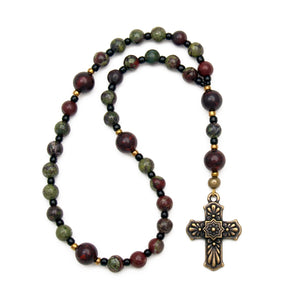 His Strength Prayer Beads