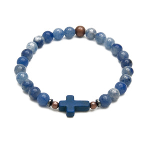 Heavenly Sky Cross Bracelet