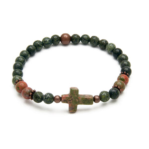 Forgiven Cross Bracelet