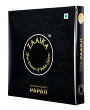 Zaaika Lahsun Papad Spicy Tasty Premium Crispy Papad for Snacks, 500 g