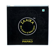 Zaaika Chana Papad Made with Chana Daal Traditional Taste Crispy Papad - 500 gm