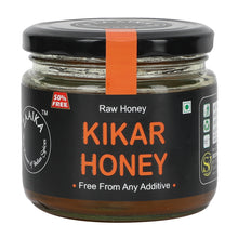 ZAAIKA Organic 100% Pure & Natural Raw Kikar Honey | No Artifical Flavours Added | Weight Management - (Pack of 375 GM)