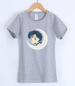SAILOR MOON | moonhead |  Tshirt dispo en 8 couleurs - Chijaco