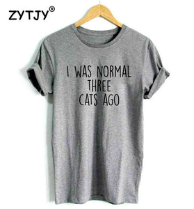 I WAS NORMAL | Tshirt femme dispo en 3 couleurs - Chijaco