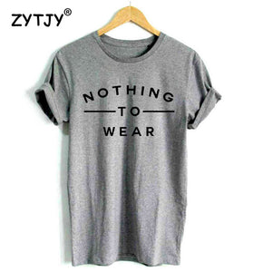 NOTHING TO WEAR | Tshirt femme dispo en 3 couleurs - Chijaco