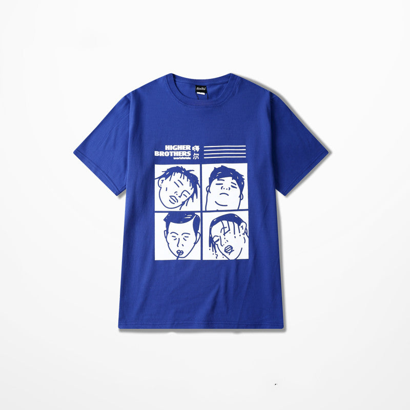 HIGHER BROTHERS | fourth | Tshirt dispo en 3 couleurs - Chijaco
