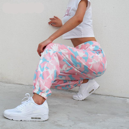 Pink Camouflage | Jogging femme - Chijaco
