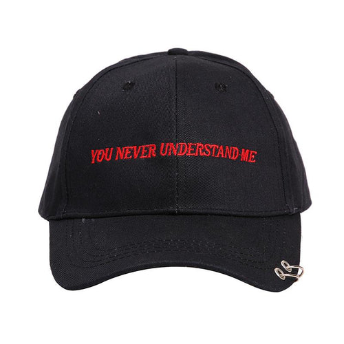 You Never Understand Me ! | Casquette - Chijaco