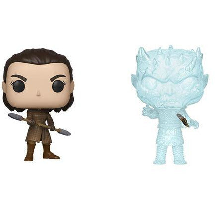 Funko Pop! Game of Thrones Arya and Knight King Set of Two! [Pre-Order]