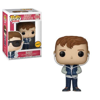 Pop! Movies - Baby Driver - Baby w/chase