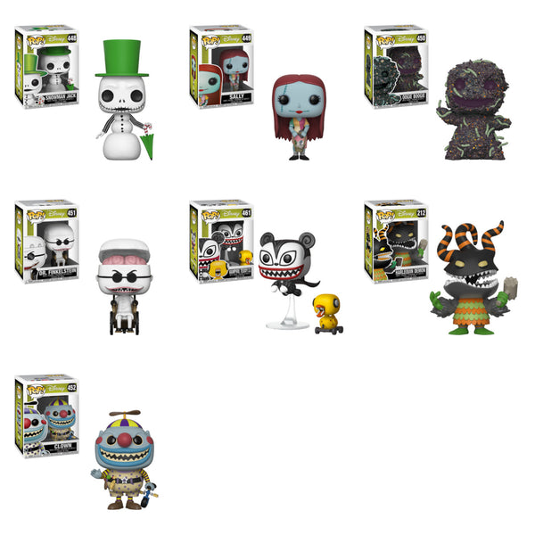 Nightmare Before Christmas Pop Bundle NBC