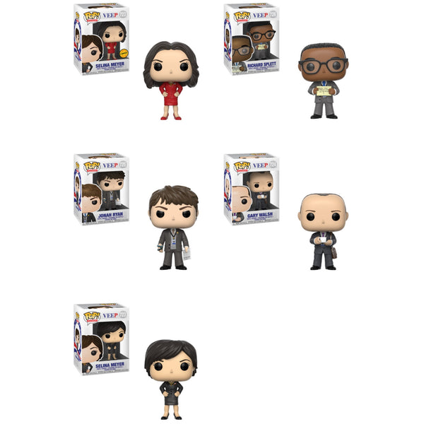 Funko Pop Veep Bundle! Includes Chase (Pre-Order)