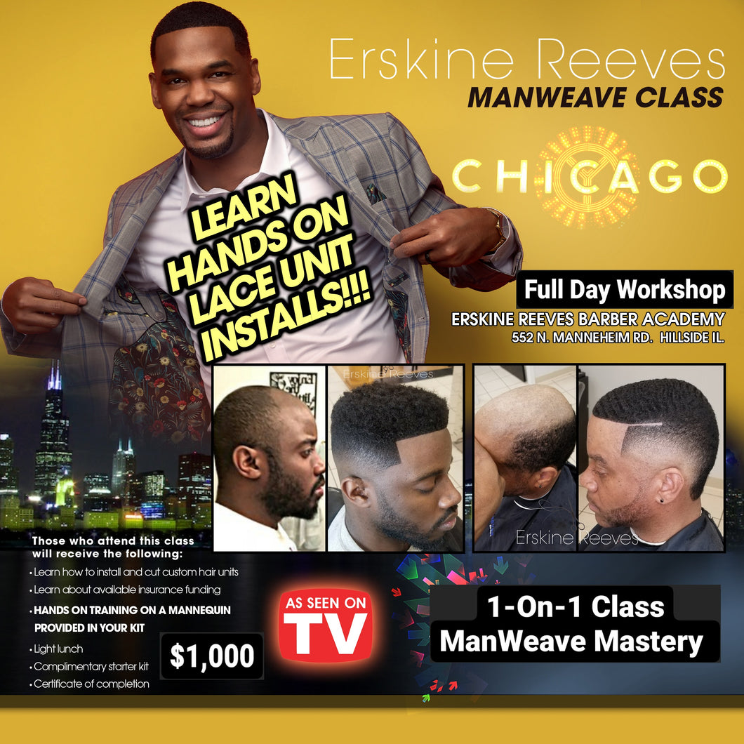 1-ON-1 ManWeave Hands-On 3 Technique Class