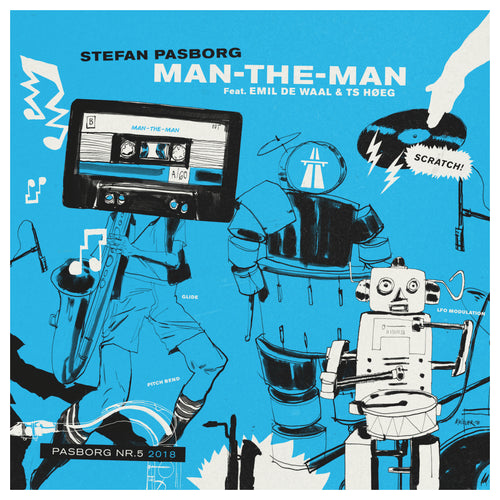 2018 - EP #5 - STEFAN PASBORG ''Man-The-Man'' (limited edition vinyl EP)