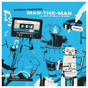 #5 - STEFAN PASBORG ''Man-The-Man'' (limited edition vinyl EP)