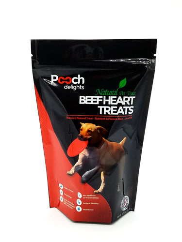 All Natural Beef Heart Dog Treats - 2.75 oz.