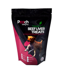 All Natural Beef Liver Dog Treats - 4 oz.