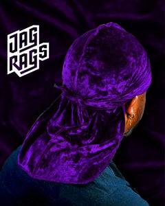Crushed Velvet Grape JagRag
