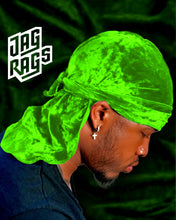 Crushed Velvet Lime JagRag
