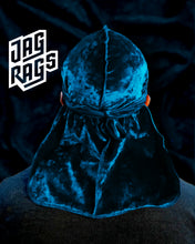 Crushed Velvet Teal JagRag