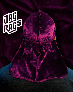 Crushed Velvet Wine JagRag