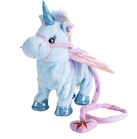 Electric Walking Unicorn Plush Toy