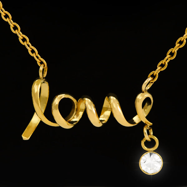 Sister In Law Gift Pretty Necklace Luxurious Jewellery Cubic Zirconia 18k Gold Plated Handmade