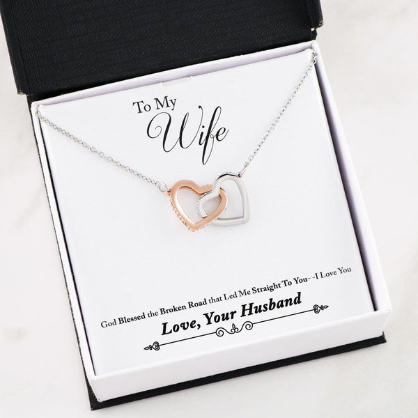 To My Wife, I Love You - Necklace