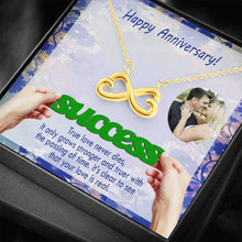 True Love Cute Gift CZ Jewelry Beautiful Necklace 18k Gold Plated Handmade W/T Personalize Card