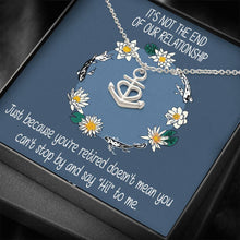 Good Relationship Thoughtful Gifts Nice Jewelry Anchor Necklace18k Yellow Gold Finish W/T Cute Card