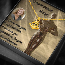 Congratulations Small Gifts For Women Cute Necklaces Gold Chain Made In USA W/T Personalize Card