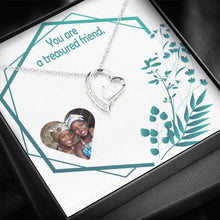 Real Friendship Special Gift Women Jewelry Handmade Forever Love Necklace W/T Own Card
