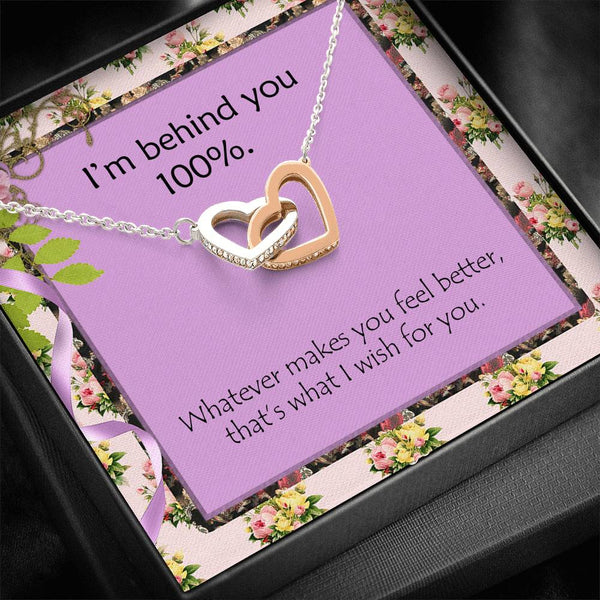 Hope You Have A Great Day Top Gift Beautiful Necklace Handmade Trendy Jewelry and Customize Card