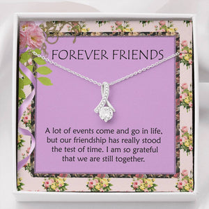 Gifts For Friends Best Friendship Alluring Necklace For Woman The Perfect Gift And Beautiful Card