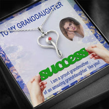 Granddaughter Gifts Pendant Jewelry Stethoscope Necklace Swarovski Crystal W/T Customize Card