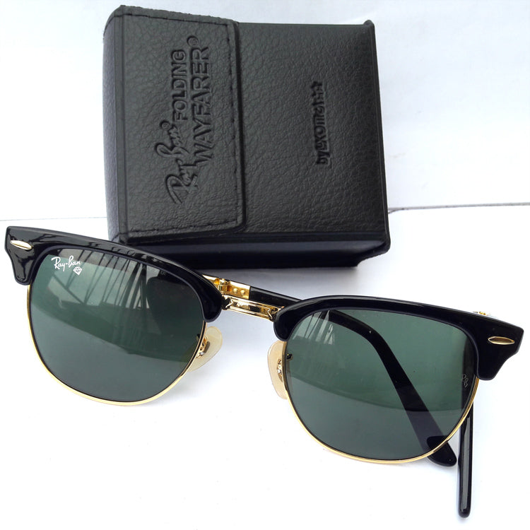 Rayban mens foldable clubmaster sunglasses