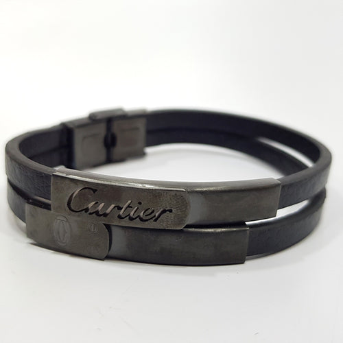 mens leather bracelets designer