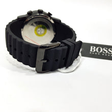 Hugo boss mens chronograph sports watch | Black