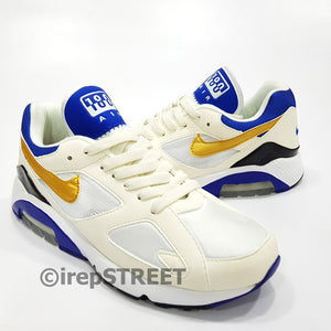 Nike Air Max 180 QS Mens Running Shoes | Gold