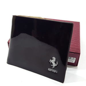 Ferrari wetlook mens wallet