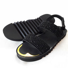 Giuseppe studded double strap sandals | Black