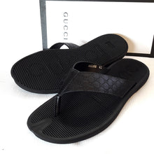 Gucci patterned simple slips | Black
