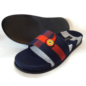 Burbery coloured comfy slips slips