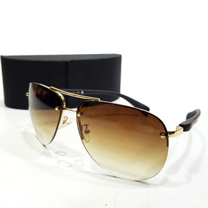Porsche Aviator designer sunglasses | Brown
