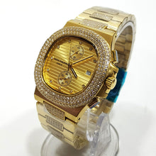 Patek Philippe designer studded wristwatch  | Gold