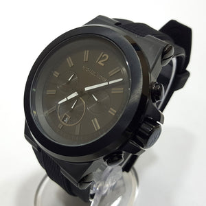 Michael Kors chronograph mens black watch
